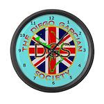 DGS Blue Large Wall Clock