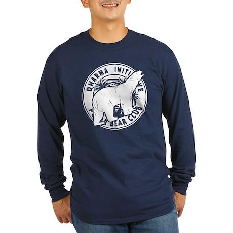 Polar Bear Club LOST Blue Long Sleeve Dark T-Shirt