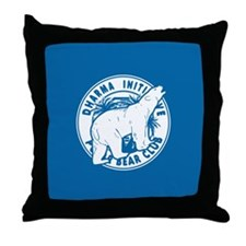 Polar Bear Club LOST Throw Pillow
