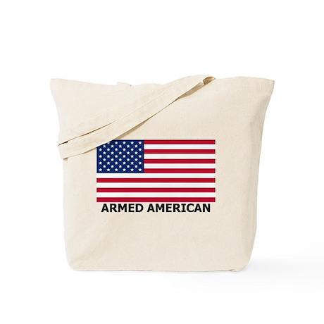 ARMED AMERICAN Tote Bag