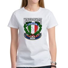 World's Greatest Italian Mom Tee