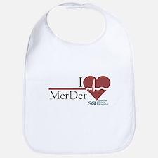 I Heart MerDer - Grey's Anatomy Bib