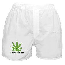 Marijuana Think Green Boxer Shorts