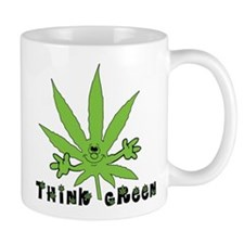 Marijuana Think Green Mug