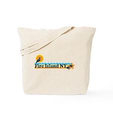 Fire Island - Beach Design Tote Bag