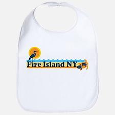 Fire Island - Beach Design Bib