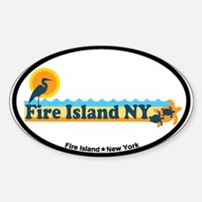 Fire Island - Beach Design Decal