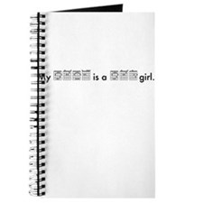 My Babe is a Bad Girl Journal