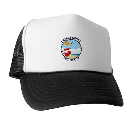 Cherry Grove - Beach Design Trucker Hat