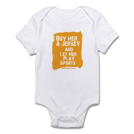 Buy Her A jersey Infant Bodysuit