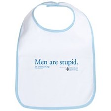 Men Are Stupid Bib