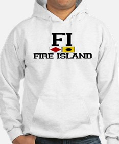 Fire Island - Nautical Design Hoodie