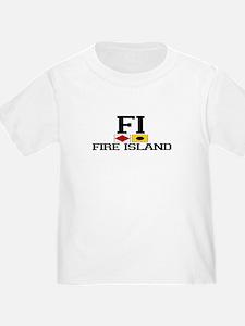 Fire Island - Nautical Design T