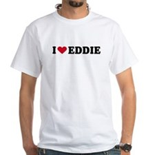 I LOVE EDDY ~ White T-shirt
