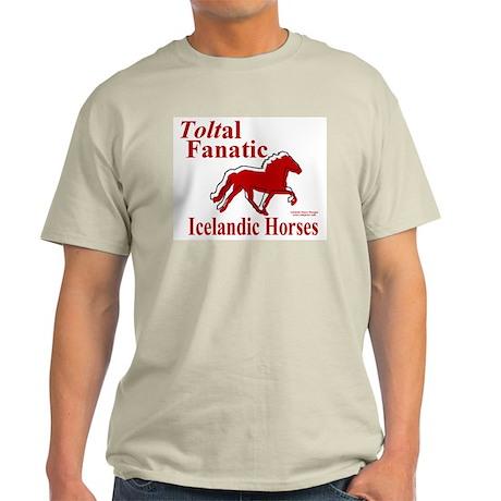 Ash Grey T-Shirt / Toltal Fanatic