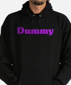 Cute You big dummy Hoodie (dark)