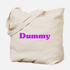 Cool Dummy Tote Bag