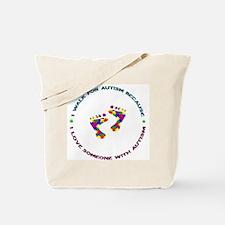 Walk 4 Autism Tote Bag
