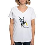 FanLit Women's V-Neck T-Shirt