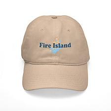 Fire Island - Seashells Design Baseball Cap