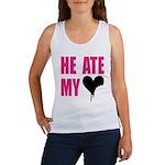 He Ate My Heart Women's Tank