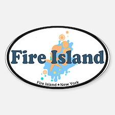 Fire Island - Seashells Design Decal