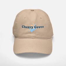 Cherry Grove - Seashells Design Baseball Baseball Cap