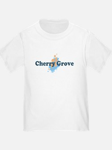 Cherry Grove - Seashells Design T