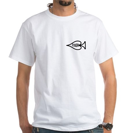 Poker symbol White T-Shirt