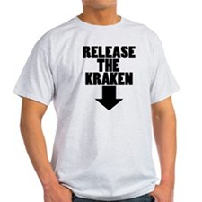 kraken white 2 T-Shirt
