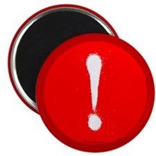 "Exclamation Mark 2.25"" Magnet (10 pack)"
