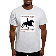 Ash Grey T-Shirt / Good horses . . .