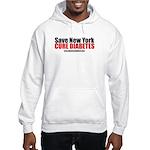 Save New York Cure Diabetes Hooded Sweatshirt