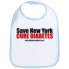 Save New York Cure Diabetes Bib