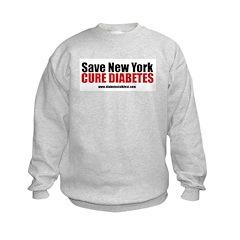 Save New York Cure Diabetes Sweatshirt