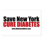 Save New York  Cure Diabetes Postcards (Package of