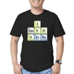 I Am So Nerdy Men's Fitted T-Shirt (dark)