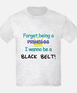Black Belt Princess T-Shirt