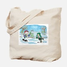 Hockey Holidays! Tote Bag