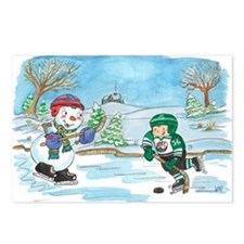 Hockey Holidays! Postcards (Package of 8)