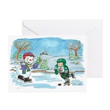 Hockey Holidays! Greeting Cards (Pk of 10)