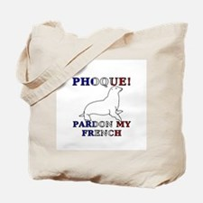 Phoque, Pardon My French Tote Bag
