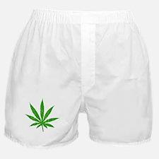Marijuana Leaf Boxer Shorts