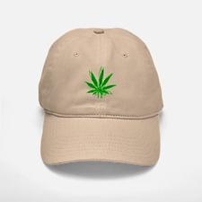Abstract Marijuana Leaf Baseball Baseball Cap