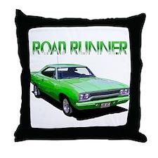 Cute Road runner Throw Pillow