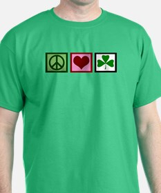 Peace Love Ireland T-Shirt