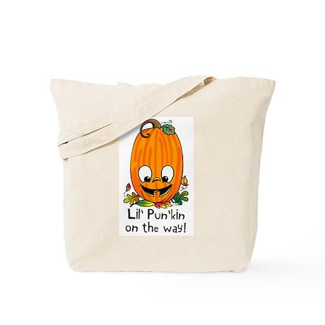 Lil' Pun'kin On the Way! Tote Bag