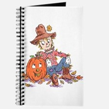 scarecrow and pumpkin Journal