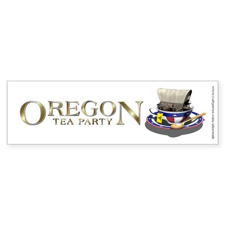 TEA Party - Oregon, Sticker (Bumper)