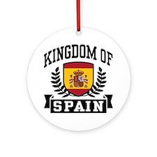 Kingdom of Spain Ornament (Round)